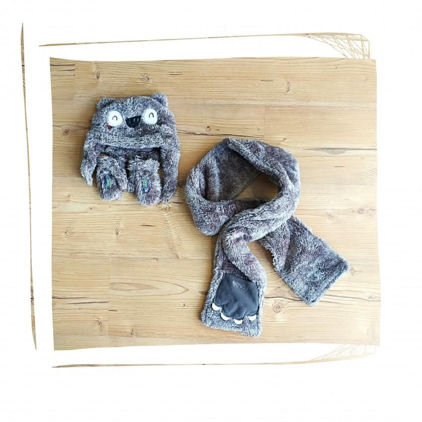 Σετ Σκουφί Κασκόλ Γάντι Παιδικό (Artic.bears.1.b)