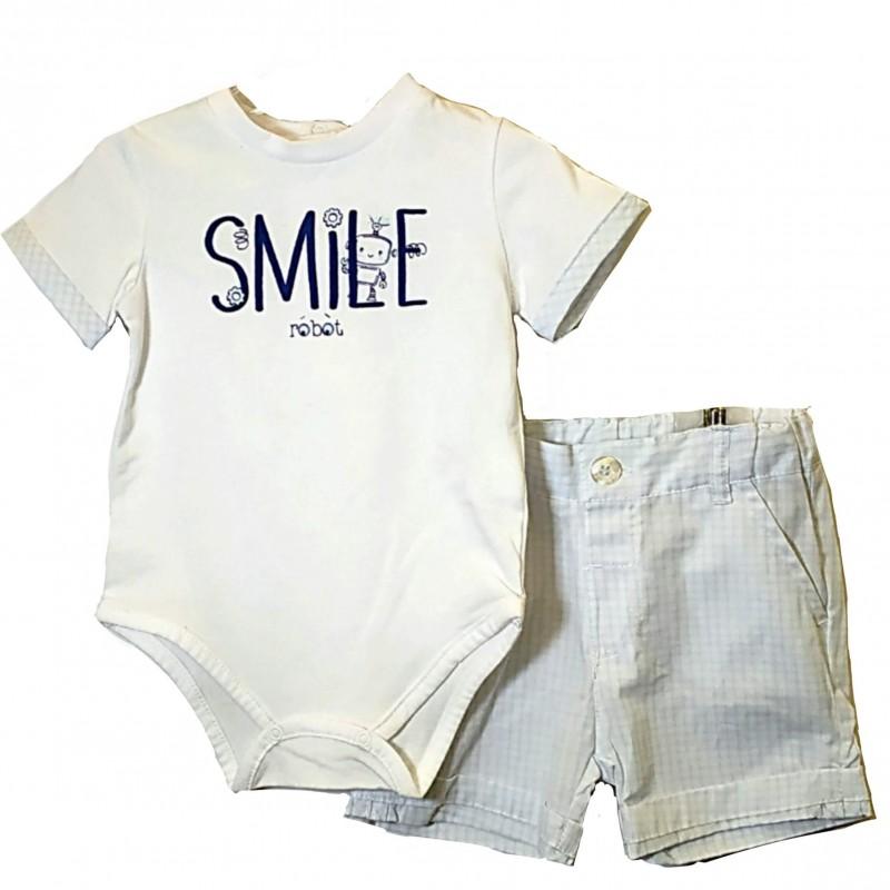 Σετ Παιδικό Βρεφικό (Smile.robot.b)